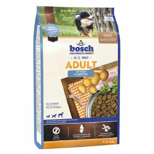 Bosch Adult Fish & Potato - корм Бош для взрослых собак на основе рыбы и картофеля