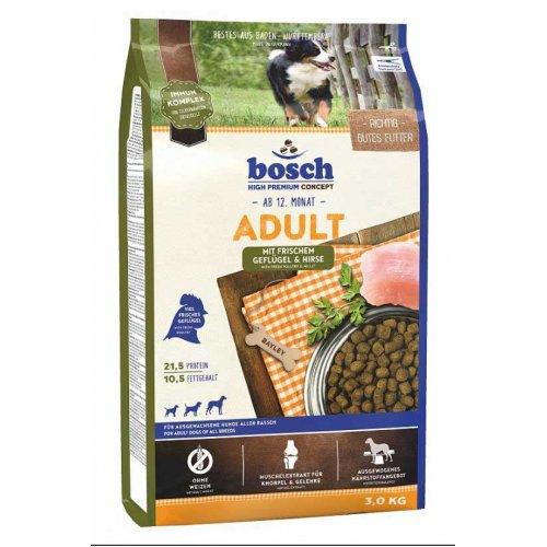 Bosch Adult Poultry & Spelt - корм Бош для взрослых собак на основе птицы и спельты (зерновые)