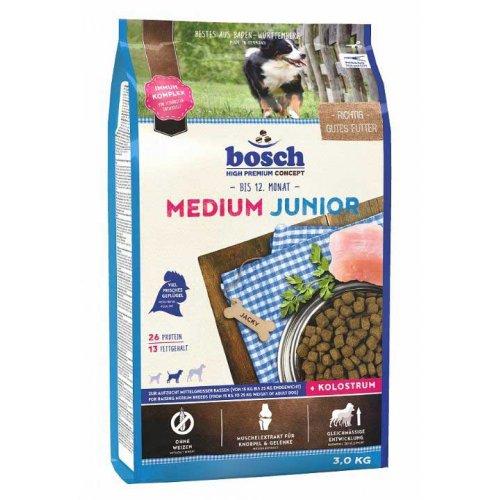 Bosch Junior Medium - корм Бош для щенков и подростков средних пород