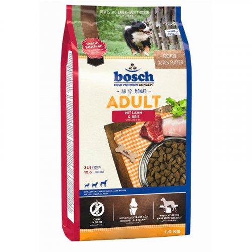 Bosch Adult Lamb & Rice - корм Бош для взрослых собак на основе ягнёнка и риса