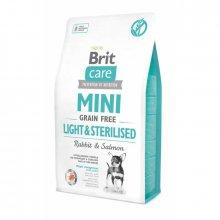 Brit Care Mini Light and Sterilised - корм Брит для собак мини-пород с избыточным весом