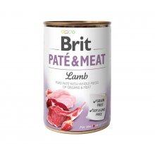Brit Pate and Meat Lamb - корм Брит кусочки ягненка и курицы в паштете для собак