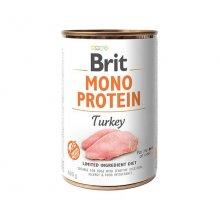 Brit Mono Protein - консервы Брит Моно Протеин с индейкой для собак