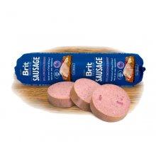Brit Premium Sausage - колбаса Брит кусочки курицы и кролика в паштете для собак