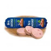 Brit Premium Sausage - колбаса Брит кусочки курицы и оленины в паштете для собак