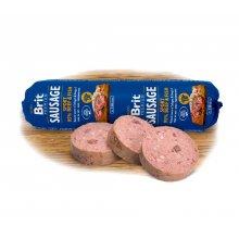 Brit Premium Sausage Sport - колбаса Брит кусочки говядины и рыбы в паштете для собак