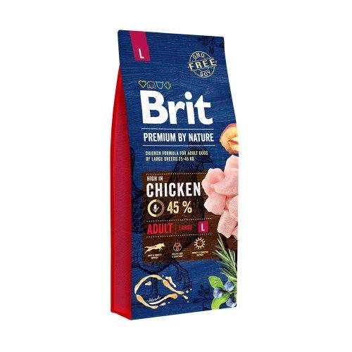 Brit Premium Adult Large Breed - корм Брит для взрослых собак крупных пород