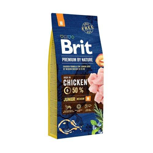 Brit Premium Junior Medium Breed - корм Брит для щенков средних пород