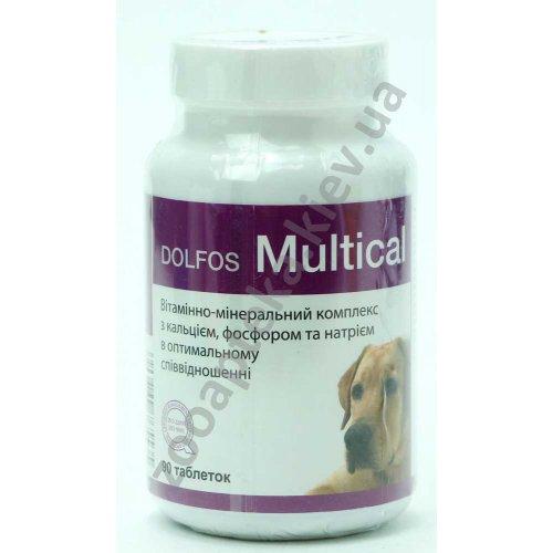 Dolfos Multical - витаминно-минеральный комплекс Дольфос Мультикаль
