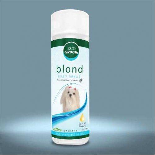 EcoGroom Blond - шампунь ЭкоГрум Блонд для собак светлых окрасов
