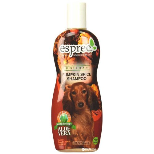 Espree Pumpkin Spice - шампунь Эспри с ароматом пряной тыквы для собак