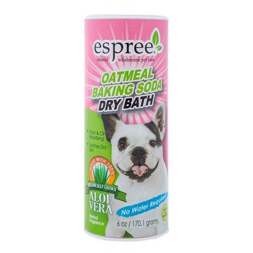 Espree Oatmeal Baking Soda - сухой шампунь Эспри с протеинами овса для собак