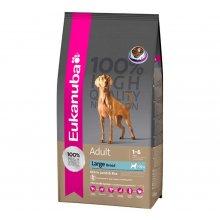 Eukanuba Adult Large Breed Lamb & Rice - корм Эукануба для собак крупных пород на основе мяса ягненк