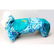 Fi-Fa - комбинезон Фи-Фа Бирюзовый Снеговик для собак