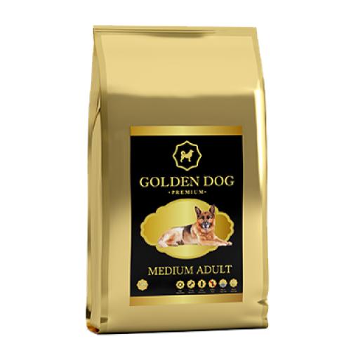 Golden Dog Medium Adult - корм Голден Дог для собак средних пород
