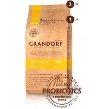 Grandorf Adult Mini - корм Грандорф 4 вида мяса с рисом для собак малых пород