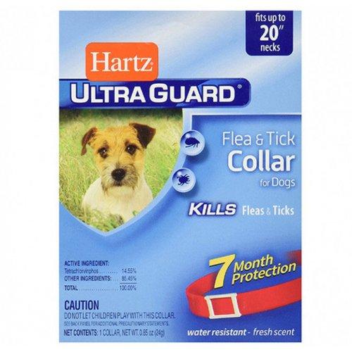 Hartz Ultra Guard - ошейник Хартц красный от блох и клещей