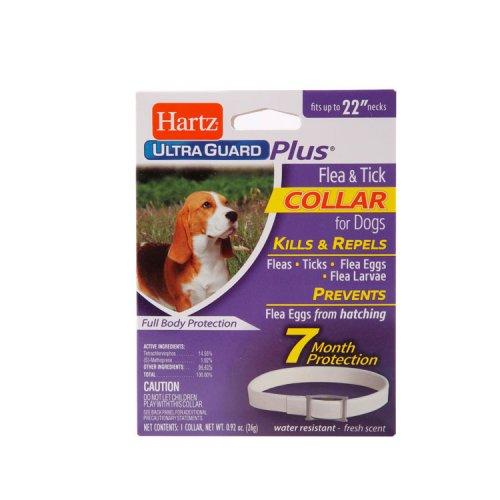 Hartz Ultra Guard - ошейник Хартц белый от клещей, блох и их яиц для собак и щенков