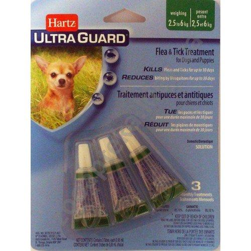 Hartz Ultra Guard - капли от блох, клещей и комаров Хартц 3 в 1 для собак и щенков до 7 кг