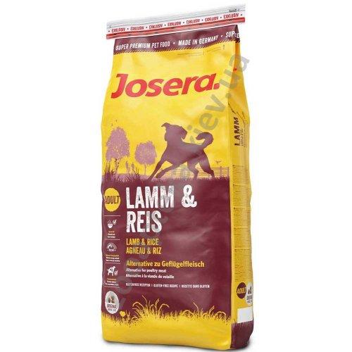 Josera Lamb & Rice - корм Йозера на основе ягненка и риса для взрослых собак