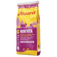 Josera Minivita - беззерновой корм Йозера Минивита пожилых для собак мелких пород