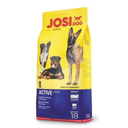 Josera JosiDog Active - корм Йозера для взрослых и молодых собак с повышенной активностью