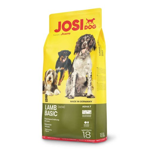 Josera JosiDog Lamb Basic - корм Йозера ДжосиДог с ягненком для собак всех пород