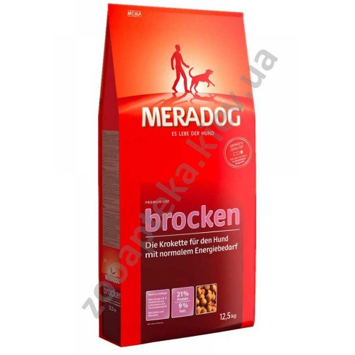 Meradog Brocken - крокеты МераДог для собак с нормальной активностью