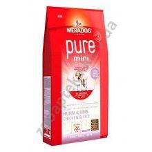 Meradog Pure Mini Adult - корм МераДог для собак мелких пород