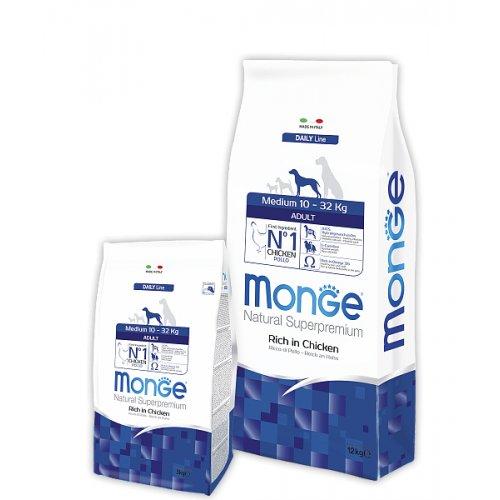 Monge Medium Adult - корм Монже для взрослых собак средних пород