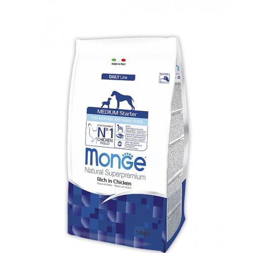 Monge Medium Starter - корм Монже для щенков средних пород до 2-х месяцев