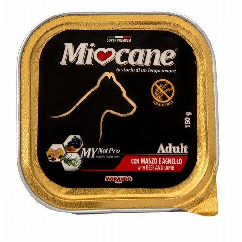 Morando Miocane - консервы Морандо с говядиной и ягненком для собак