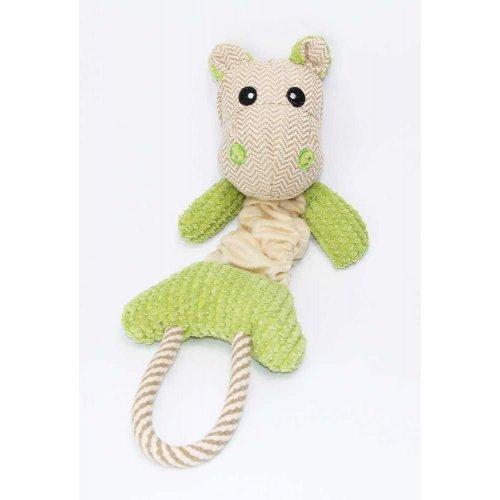 Nobby - игрушка-тянучка Нобби Гиппопотам для собак