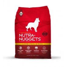 Nutra Nuggets Lamb Meal & Rice for Dogs - корм Нутра Наггетс ягненок с рисом