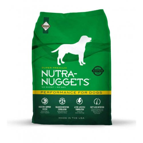 Nutra Nuggets Performance - корм Нутра Наггетс Перфоманс для атлетически развитых и спортивных собак