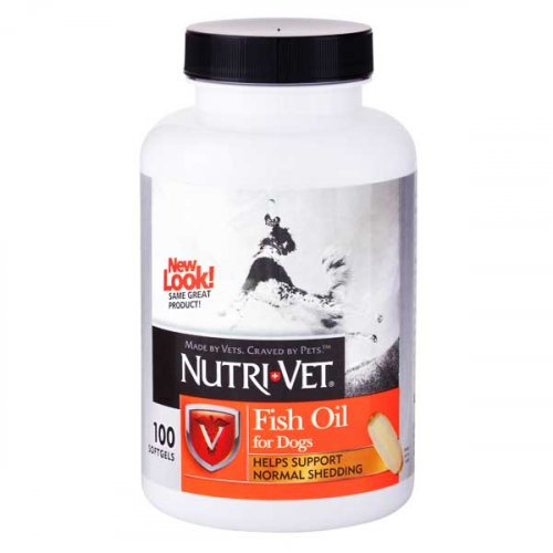 Nutri-Vet Shed-Defense Max for dogs - жевательные таблетки Нутри-Вет Макс защита шерсти для собак
