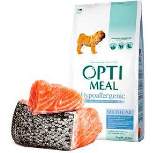 OptiMeal Hypoallergenic - гипоаллергенный корм ОптиМил для собак средних пород