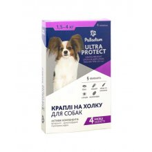 Palladium Ultra Protect - капли Палладиум от паразитов для собак