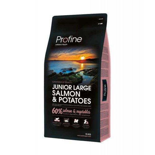 Profine Junior Large Breed - корм Профайн с лососем для молодых собак больших пород
