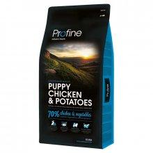 Profine Puppy Chicken and Potato - корм для щенков Профайн с курицей и картофелем