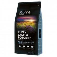 Profine Puppy Lamb and Potato - гипоаллергенный корм для щенков Профайн с ягненком и картофелем