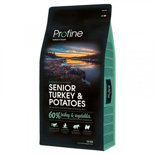 Profine Senior Turkey - корм Профайн с индейкой для пожилых собак
