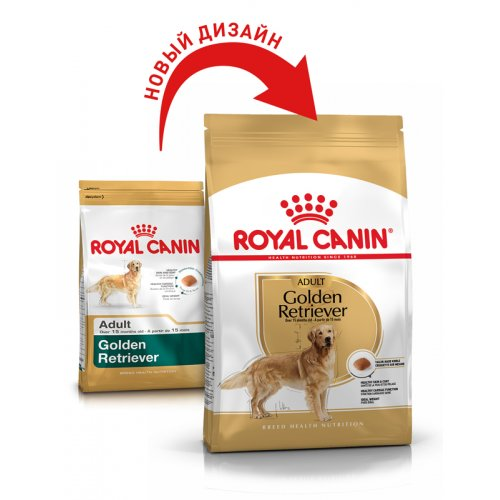 Royal Canin Golden Retriever Adult - корм Роял Канин для голден ретриверов