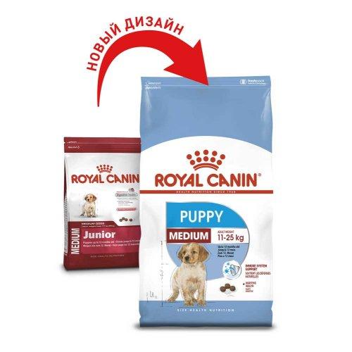 Royal Canin Medium Puppy/Junior - корм Роял Канин для щенков средних пород