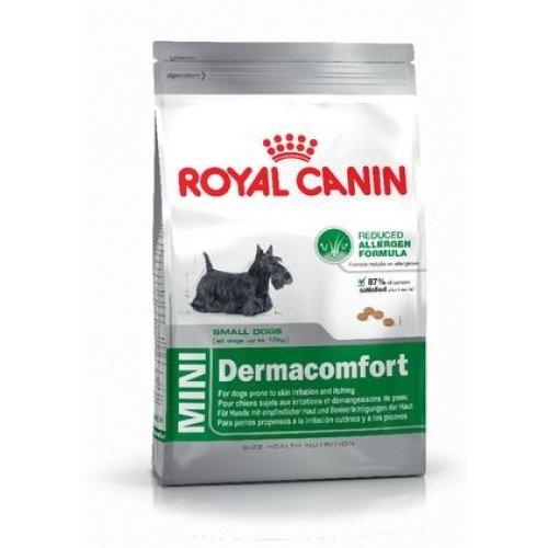 Royal Canin Mini Dermacomfort - корм Роял Канин для собак мелких пород, склонных к раздражениям
