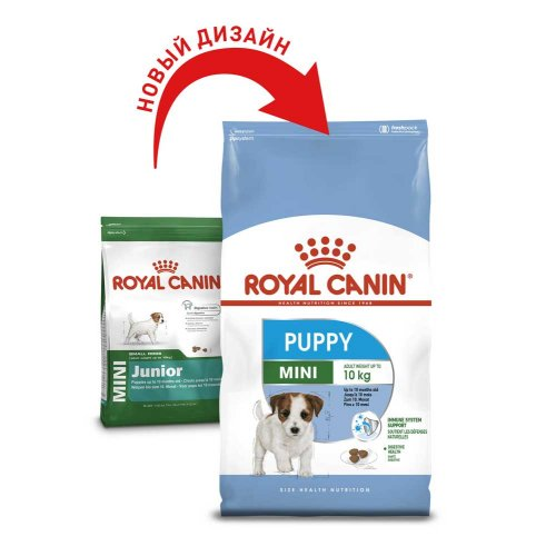 Royal Canin Mini Puppy/Junior - корм Роял Канин Мини Джуниор для щенков мелких пород