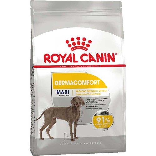 Royal Canin Maxi Dermacomfort - корм Роял Канин для собак крупных пород, склонных к раздражениям