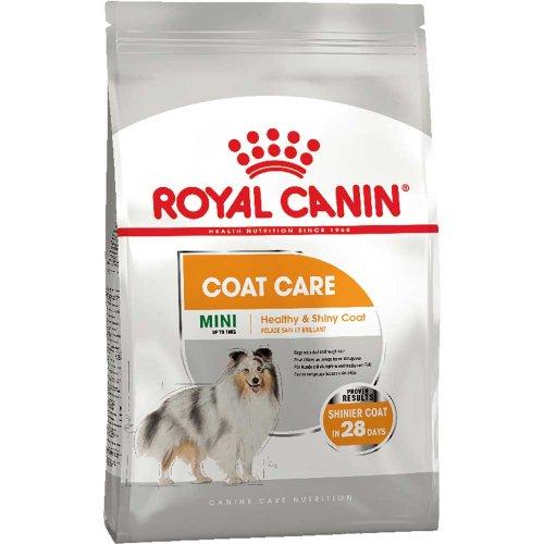 Royal Canin Mini Coat Care - корм Роял Канин для собак мелких пород с тусклой и жесткой шерстью