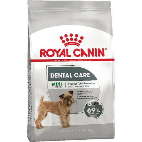 Royal Canin Mini Dental Care - корм Роял Канин для профилактики зубного налета у собак мелких пород