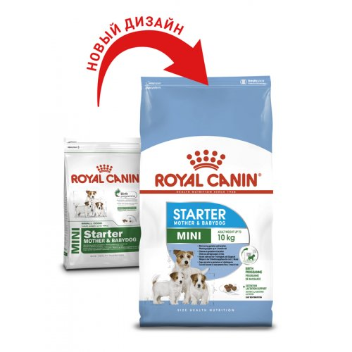 Royal Canin Mini Starter - корм Роял Канин для щенков мелких пород до 2 мес